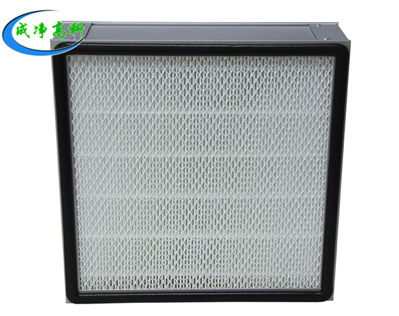 No partition sub-high efficiency air filter